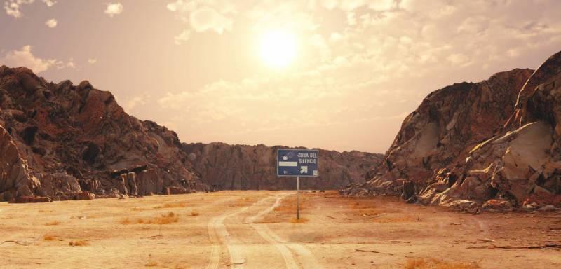 Необычные исчезновения в пустыне (5 фото)