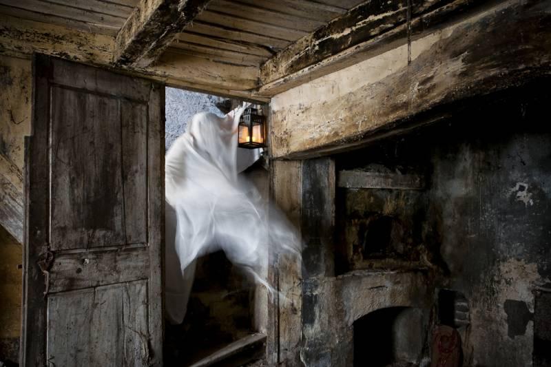 Дети-призраки, появляющиеся в определенном месте