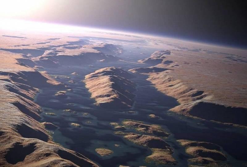 Тайны древнего Марса: Как погибла Красная планета (6 фото)