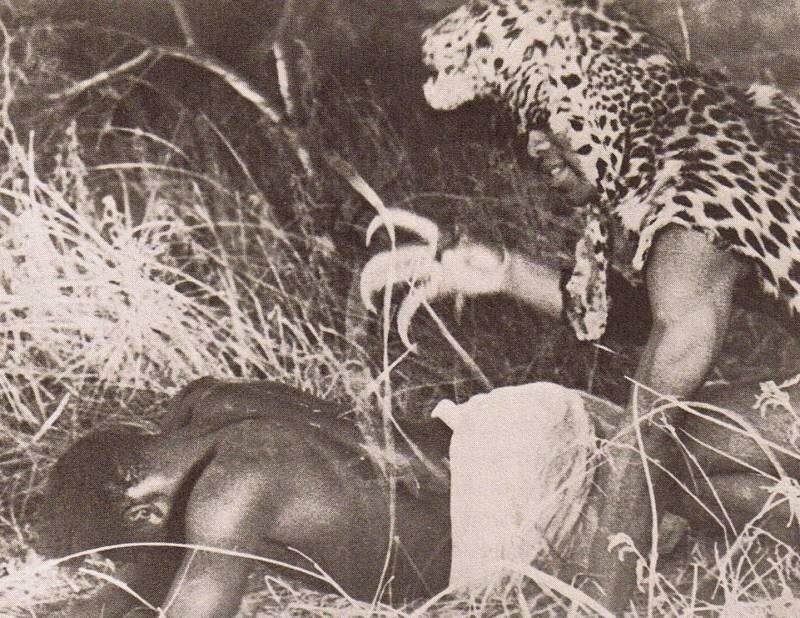 Культ людей-леопардов (4 фото)