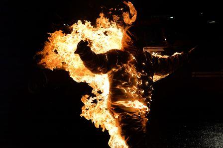 Случаи самовозгорания в Томске (5 фото)