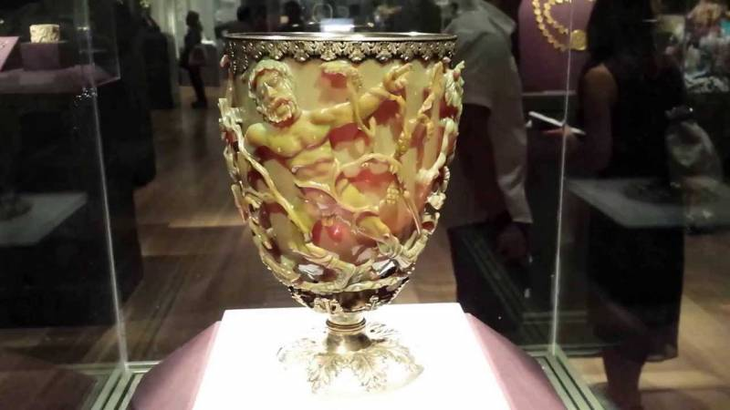 Загадка кубка Ликурга или древние нанотехнологии
