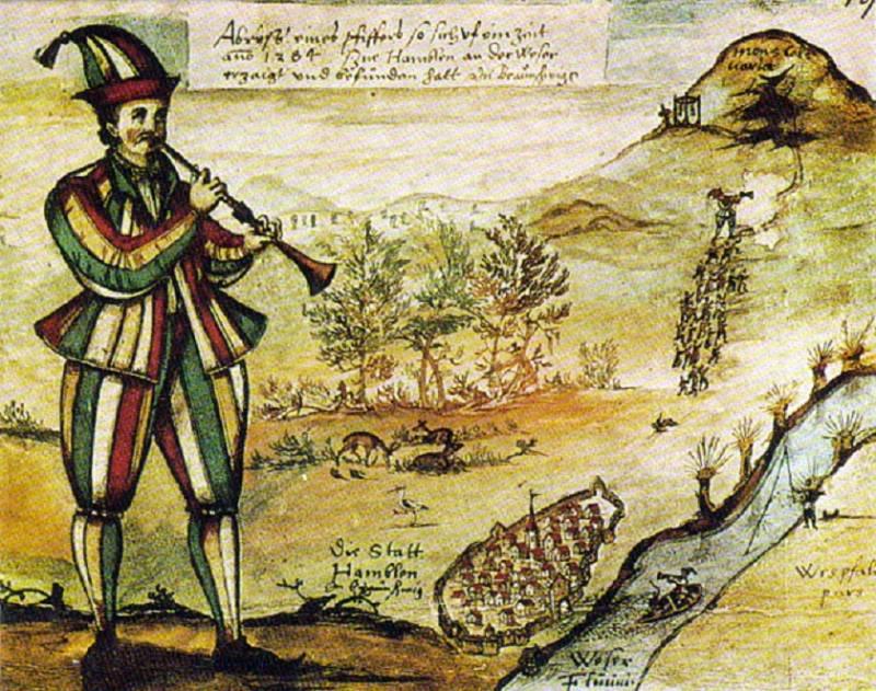 На чем основана легенда о Гамельнском крысолове? (3 фото)