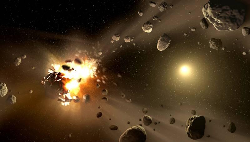 Россия разработает ядерное оружие против астероидов