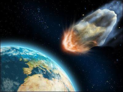 Падение средних размеров метеорита на Землю приведет к массовому голоду