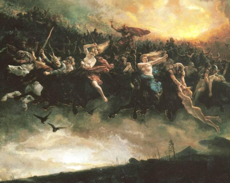 Небесные призрачные битвы