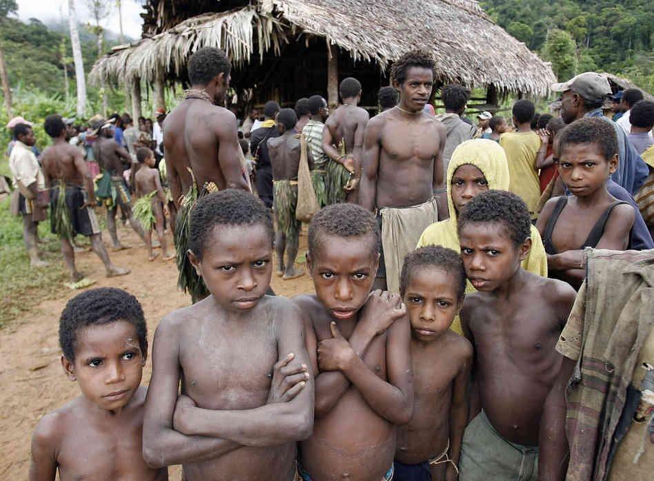 Племена растягивающие свой член
