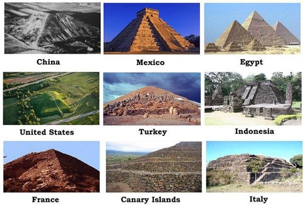 Картинки по запросу пирамиды по всему миру