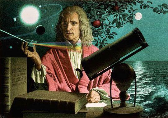 Ньютон занимался алхимией и пытался найти философский камень