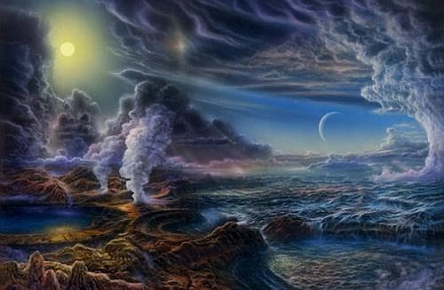 Жизнь на Земле могла существовать с самого начала (2 фото)