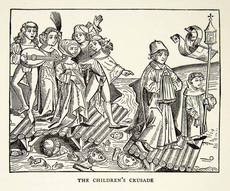 Крестовые походы детей: Трагедия средневековой Европы (4 фото)