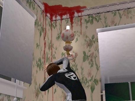 Когда из стен льется кровь (2 фото)