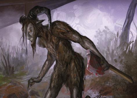 О поисках получеловека-полукозла и вере в призраков и монстров (3 фото)