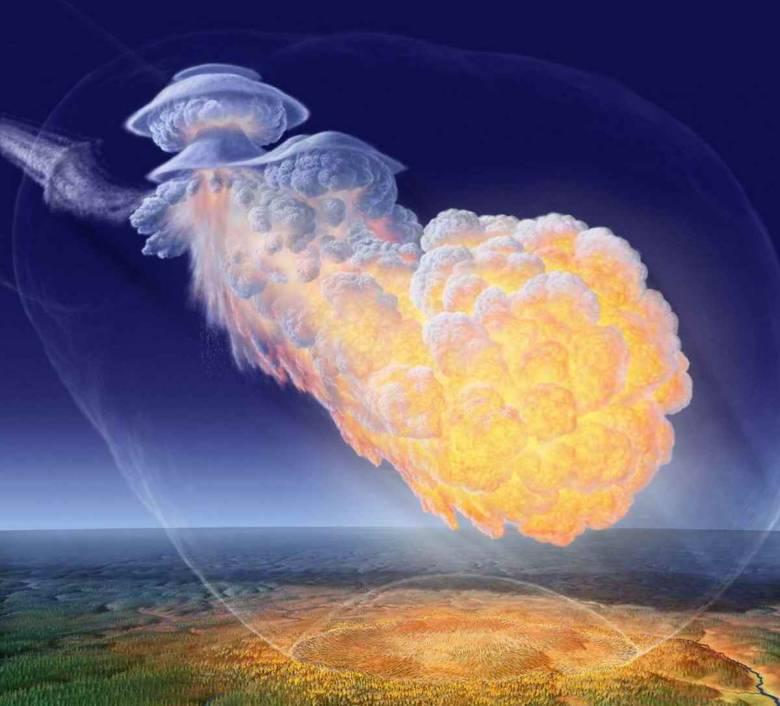 Физик и академик Российской академии космонавтики Иван Мурзинов о Тунгусском метеорите (4 фото)