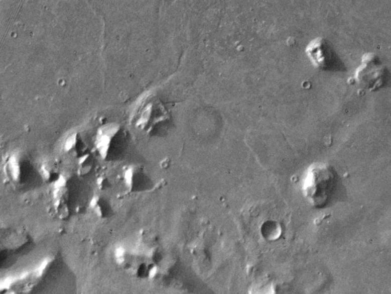 Десять безумных теорий заговора и предположений, связанных с Марсом (11 фото)