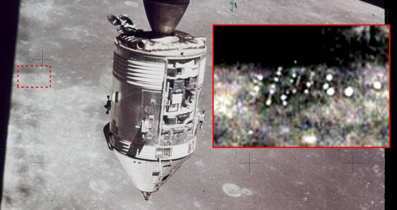 Снимок бывшего сотрудника НАСА показал наличие странных строений на Луне
