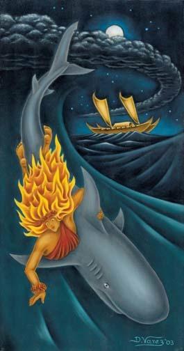 Гавайское проклятие богини Акулы (3 фото)