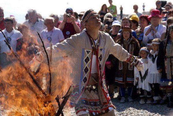 Якутский Дух огня (4 фото)