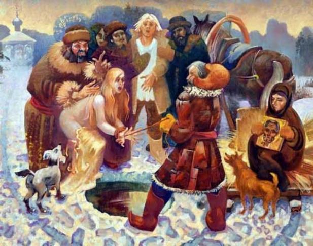 Гонения на ведьм и колдунов на Руси (3 фото)