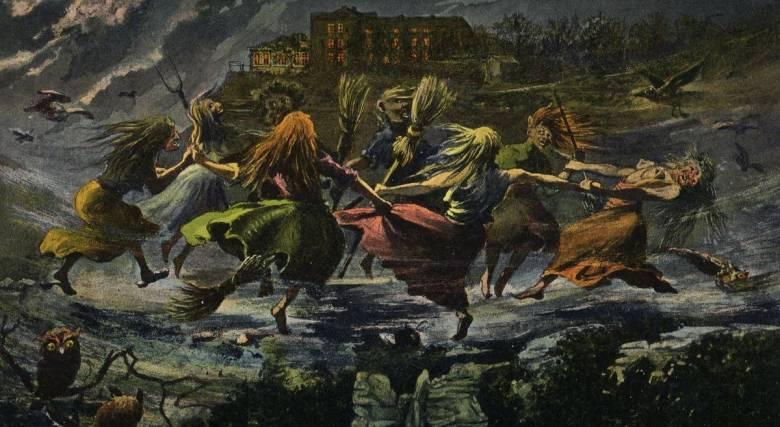 Сатанинские оргии и шабаши