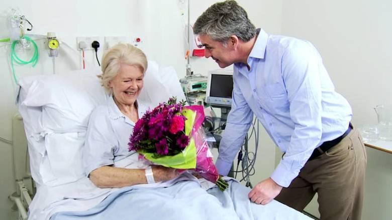 Цветы и больничные суеверия