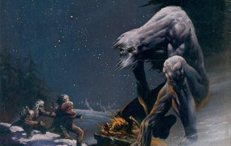 Монстр Вендиго в мифах индейцев-алгонкинов (3 фото)