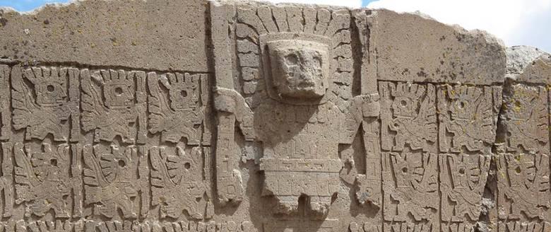 Виракоча - белый бог индейцев ( 3 фото)