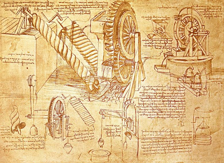 Лестерский кодекс Леонардо да Винчи (6 фото)