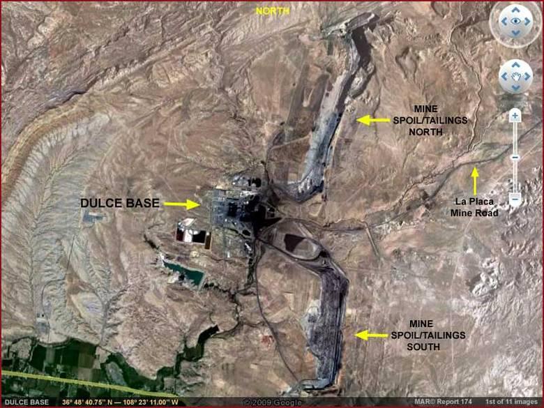 Подземные базы инопланетян (5 фото)