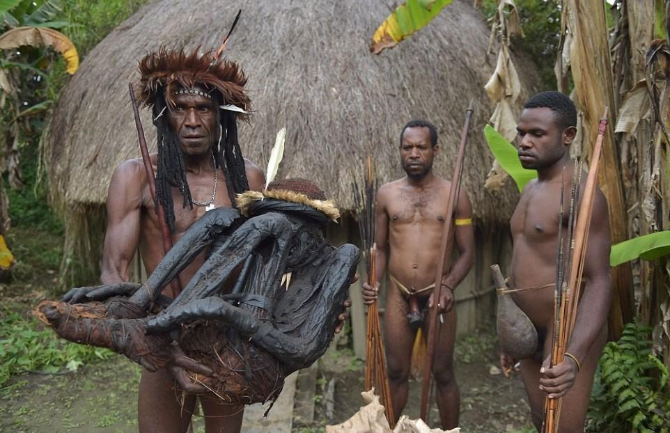 Секс в племяни попуасов