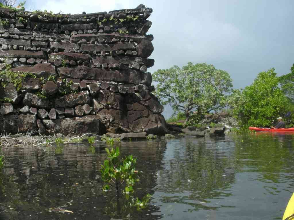 nan madol Nan madol is a ruined city that lies off the eastern shore of the island of pohnpei (presently one of the four states in the federated states of micronesia) and used to be the capital of the saudeleur dynasty until about ad 1500 the city consists of over 90 small artificial islands linked by a.