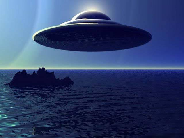 Необычная активность НЛО в Средиземном море в 1997 году