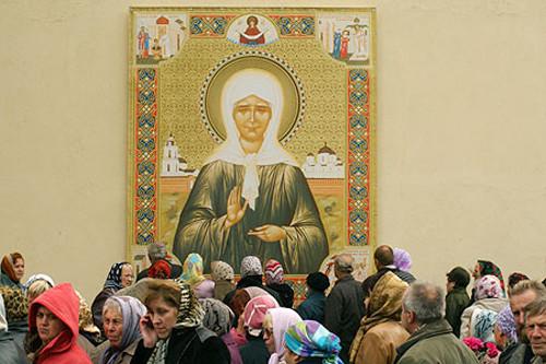 Легенда о встрече Сталина и святой Матроны Московской (3 фото)