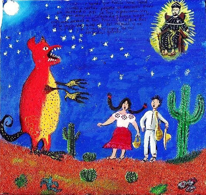 Оборотни в культуре американских индейцев (6 фото)