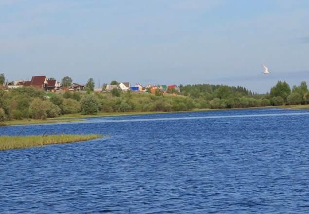 Необычные озера Коми - Коми, озера Коми, озеро, русалка