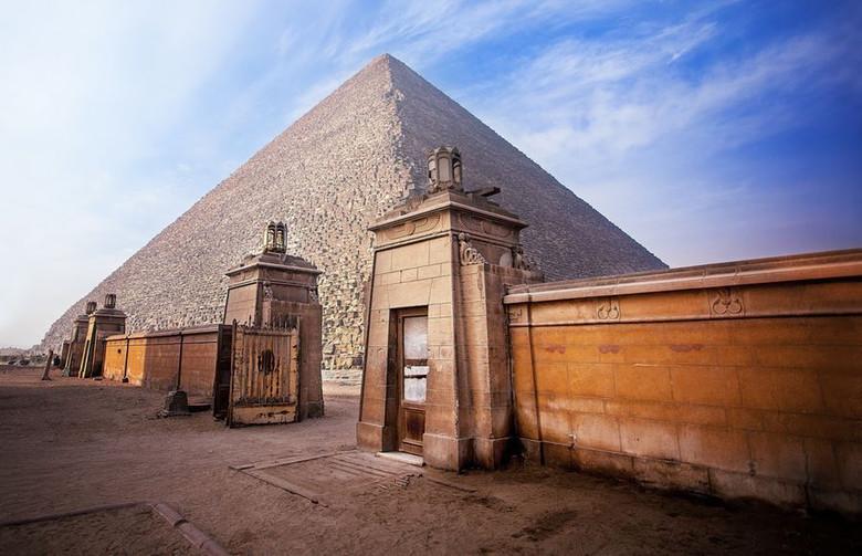 Египетские традиции мумификации фараонов переняты у древних атлантов?