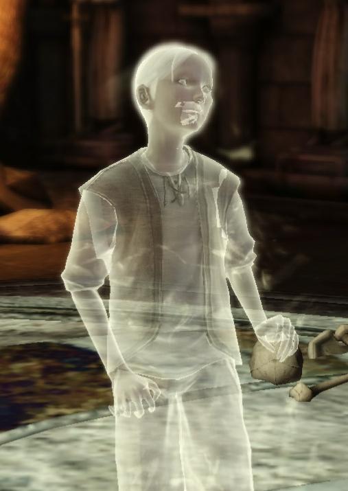 Когда призраки показывают свои человеческие останки (2 фото)
