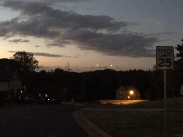 НЛО активизировались этой осенью (8 фото)