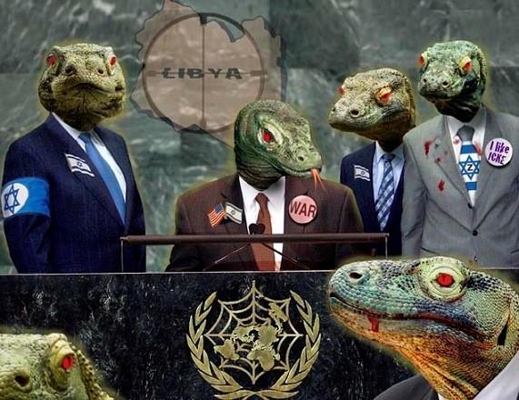 Откуда пошли теории заговора о рептилоидах (3 фото)