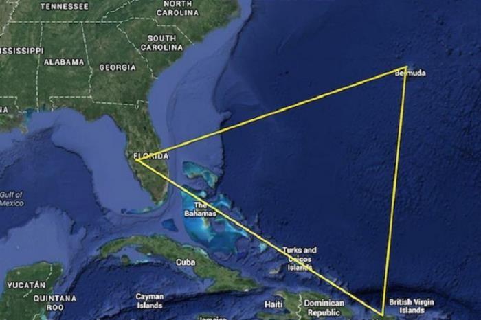 Американские метеорологи в сотый раз расскрыли тайну Бермудского треугольника? (2 фото)