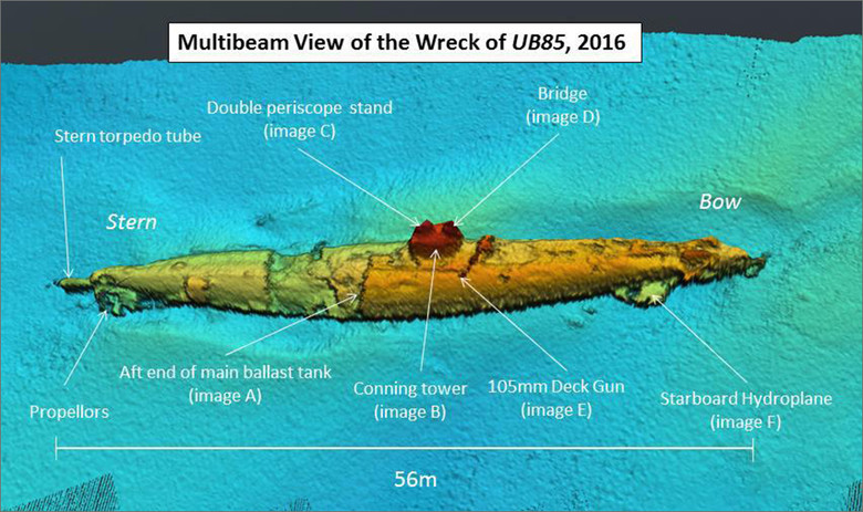 В Шотландии нашли подлодку, которую по легенде потопило морское чудовище (2 фото)