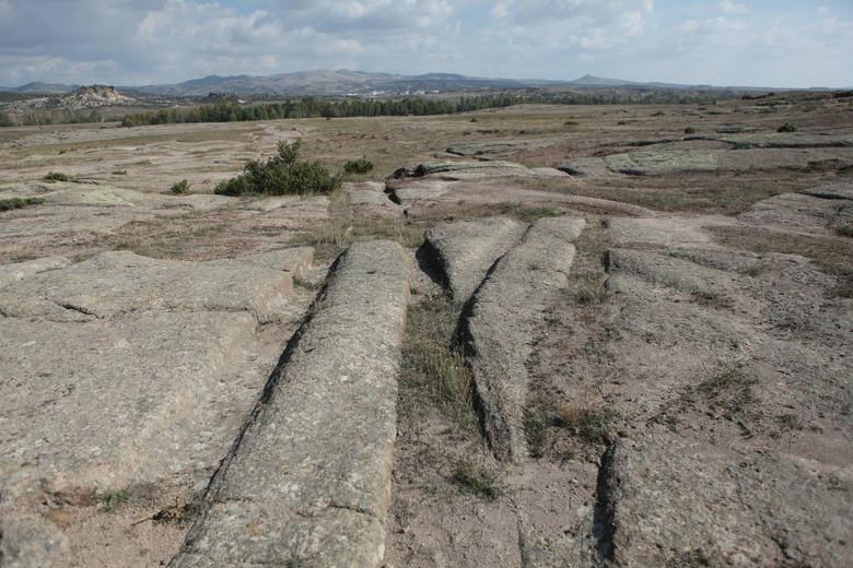 Окаменевшие следы древних «вездеходов» в Турции и Испании геолог оценивает в 12 миллионов лет (14 фото)