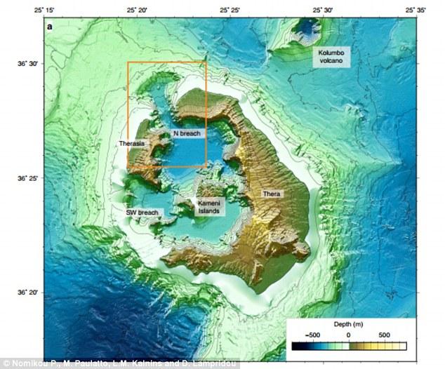 Ученые представили новую версию происхождения мифа о гибели Атлантиды