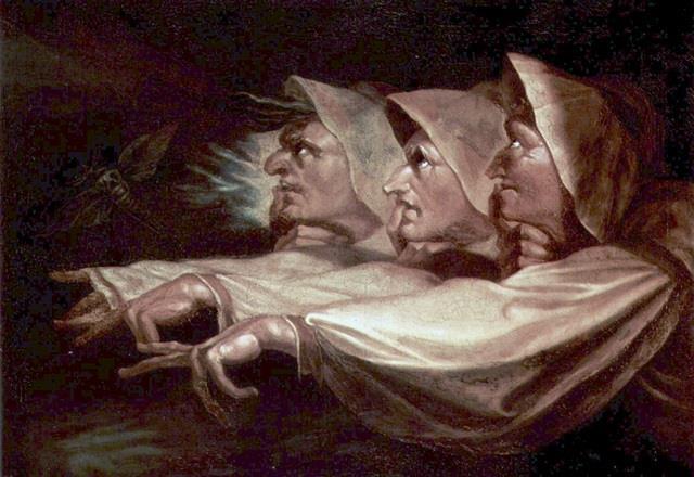 Ведьмы из Арраса (2 фото)