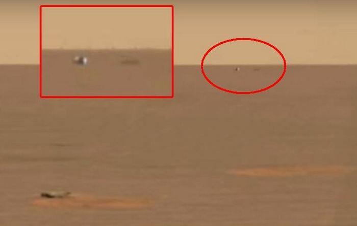 За посадкой марсохода «Opportunity» наблюдал орб-НЛО