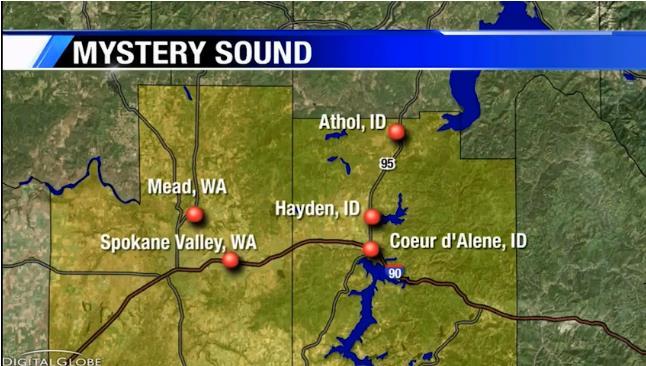 Странные жуткие звуки мешали спать жителям города Спокан-Вэлли, штат Вашингтон (+видео)