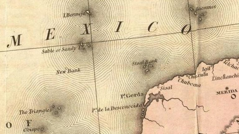 Загадка пропавшего острова Бермея: Ошибка картографов или тайная операция США? (4 фото)