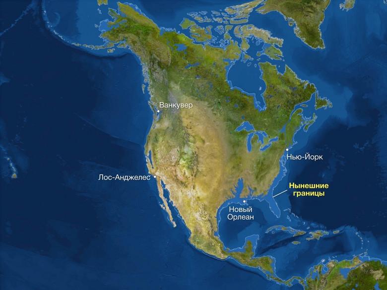 Как будет выглядеть Земля, если все ледники растают (7 фото)