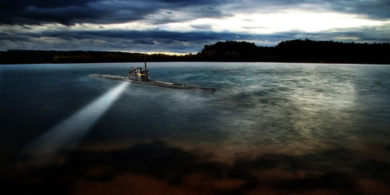Подводный феномен: Призрачные субмарины с невероятной скоростью и неуловимостью (2 фото)