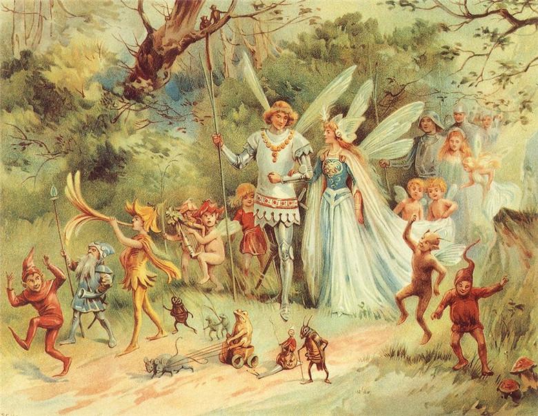 Гиганты, люди и эльфы: Мифологическая история Британии (6 фото)